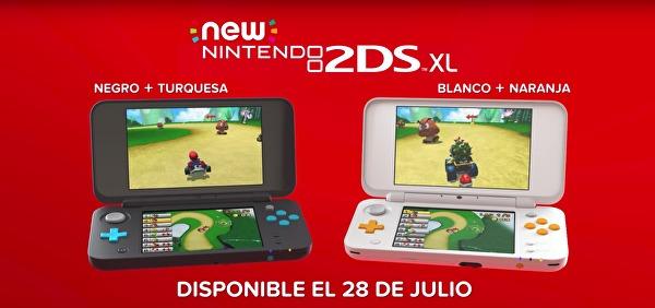 new nintendo 2ds xl modelos